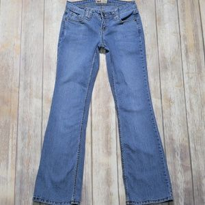 lei | Size 5 Ashley Ultra Low Rise Flare Jeans